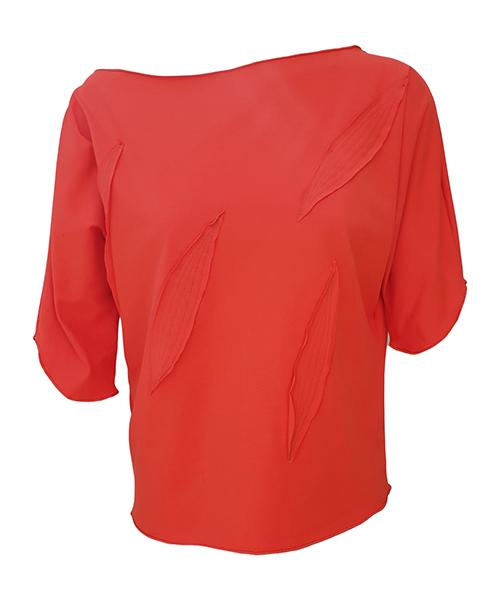 Unikatna majica Orange Leaves