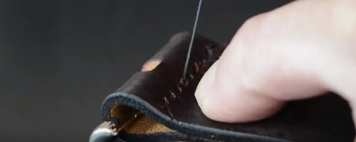 How we make a leather belt?