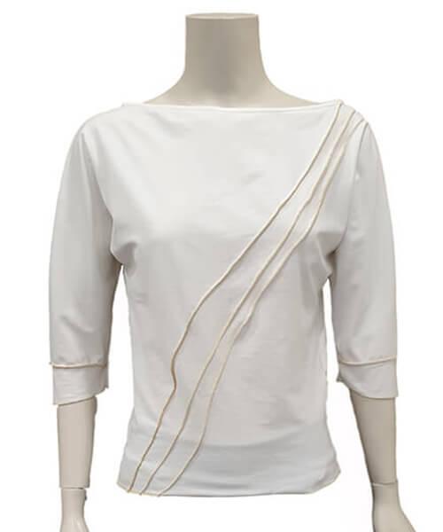 Majica Basic White spredaj