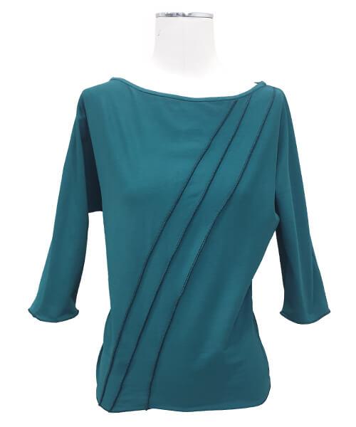 Majica Basic Green spredaj