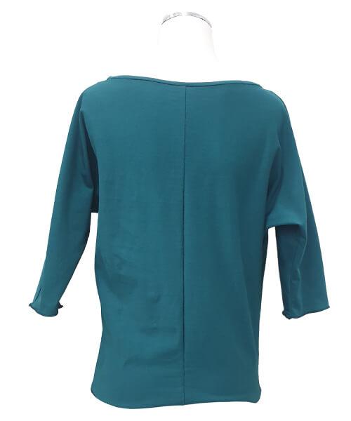 Majica Basic Green zadaj