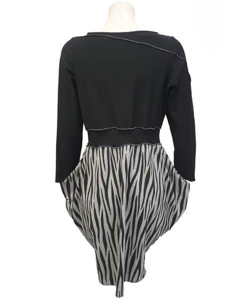 Obleka Cardish Jungle Black zadaj