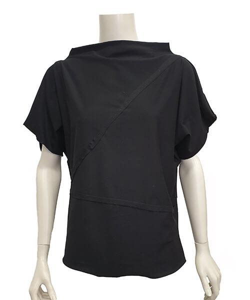 Majica Baggy Black spredaj