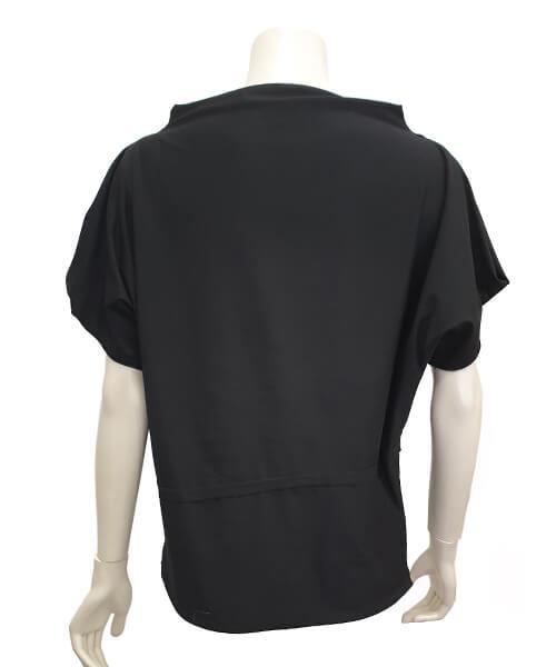 Majica Baggy Black zadaj